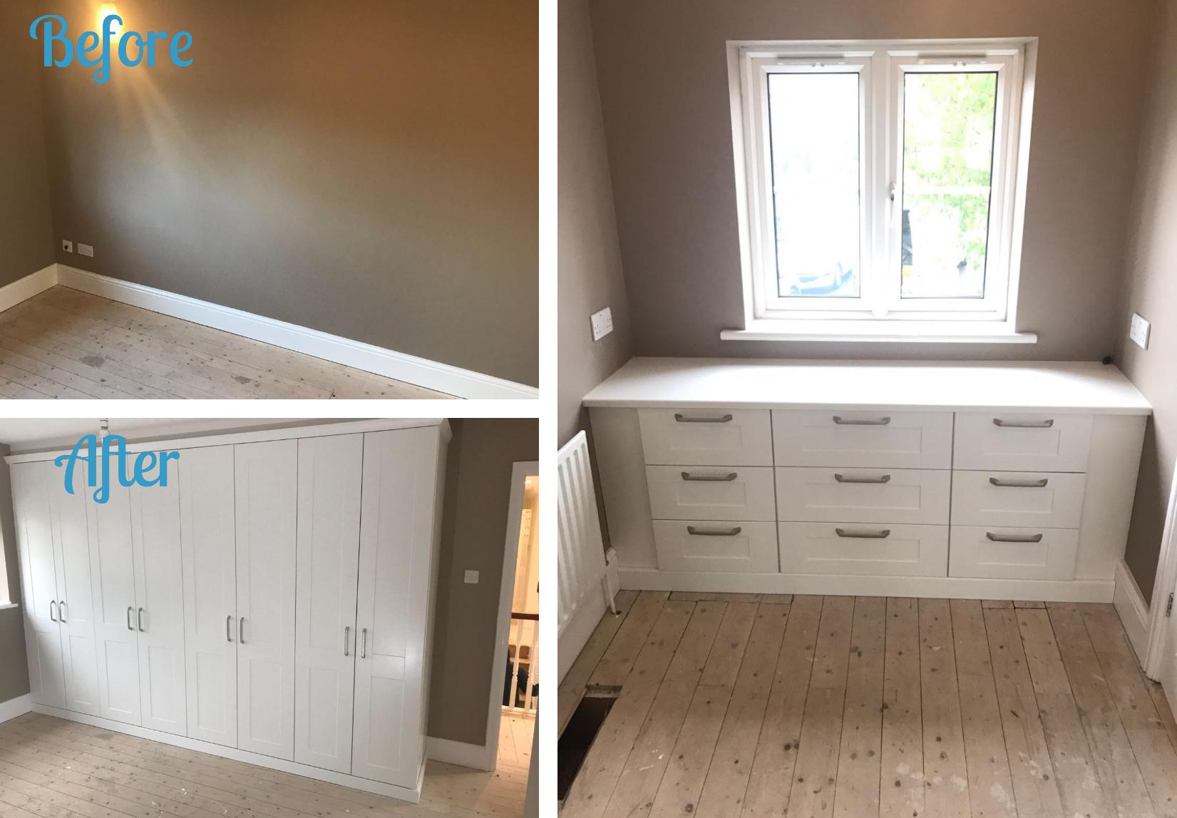 Completed 'Kingsbury' Bedroom