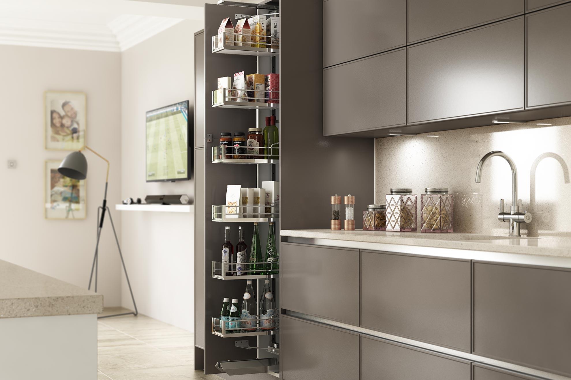 Kitchen Storage with Virtu