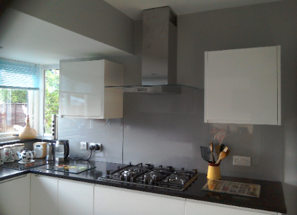 From Brown to Grey Kitchen